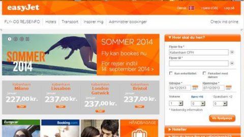 EasyJet – Billige flybilletter til hele Europa