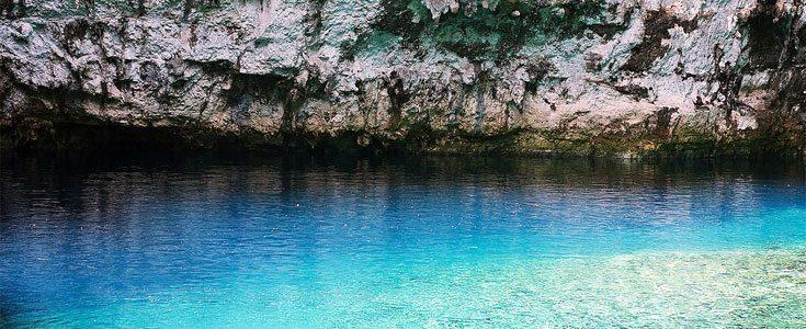 Melissani-grotten