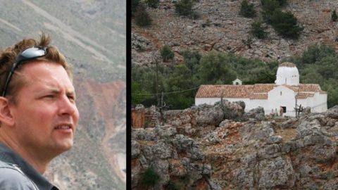 En tur over kløfter og blandt geder på Kreta