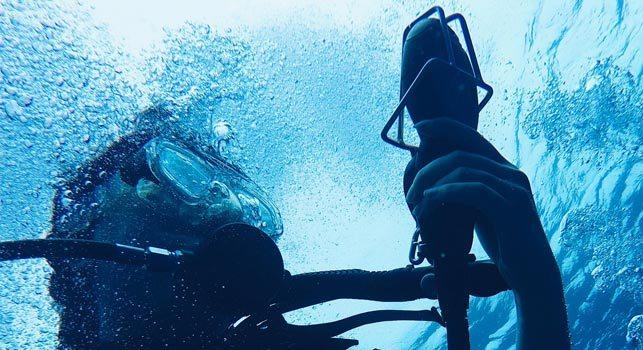 Tag dykkercertifikat i Thailand