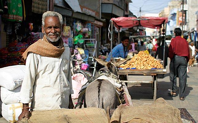 Gade i Indien