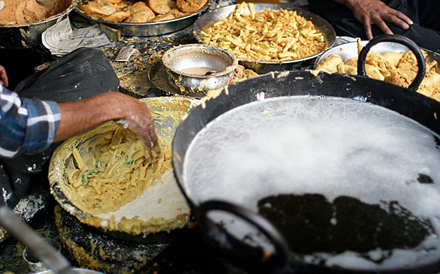 Streetfood i Indien