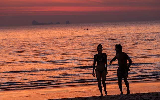 Solnedgang på Koh Lanta