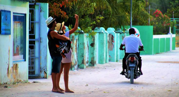 Førstegansrejsende på Maldiverne