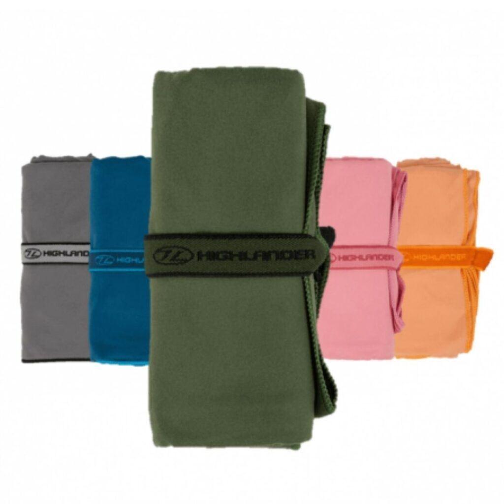 Backpackerlife hurtigtørrende håndklæde