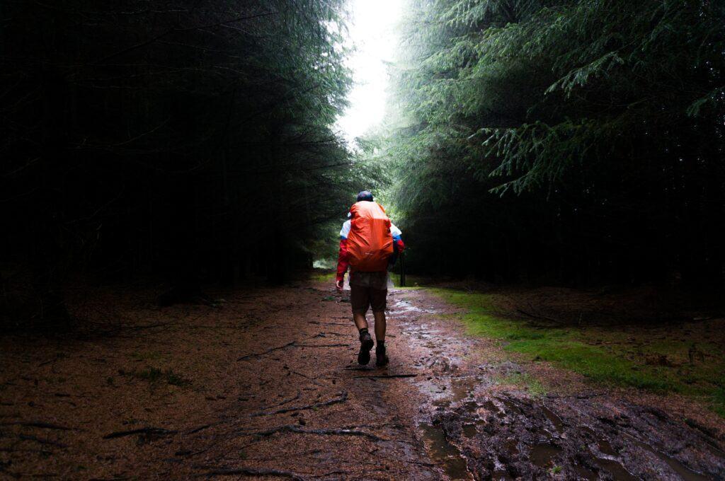 Outdoor rygsæk regnslag